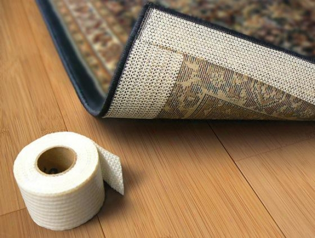 """stay In Place Rug Tape - 2.5""""x25', Ivory"""