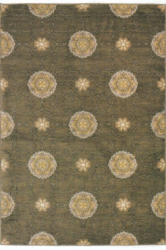 """stella Ii Area Rug - 1'11""""x7'6"""", Brown"""
