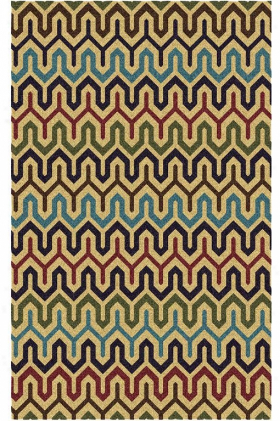 """stitches Area Rug - 7'6""""x9'6"""", Beige"""