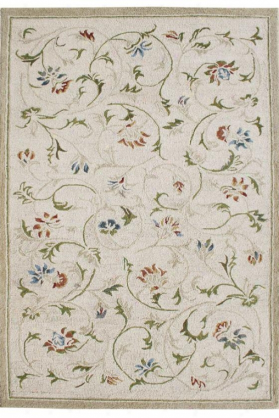 Summerhouse Area Rug - 3'3x5'3, Ivory