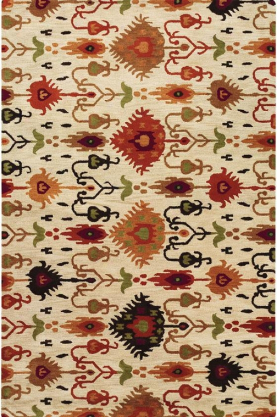 Surrounding Area Wool Rug