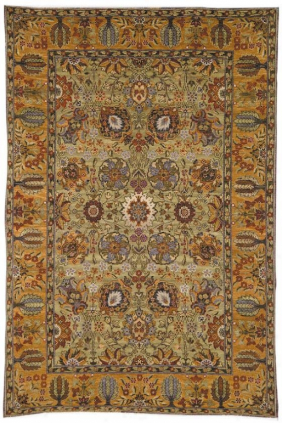 Tabriz Viii Area Rug - 4'x6', Unseasoned