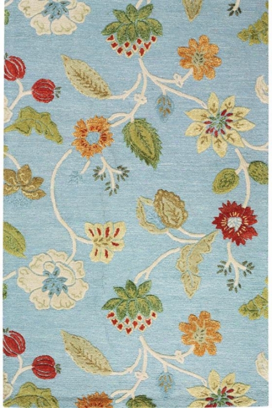 """the Portico Rug - 5'3""""x8'3"""", Melancholy"""