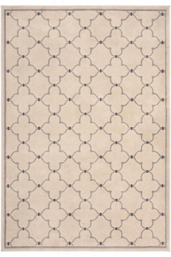 """thistle Area Rug - 6'7""""x9'6"""", Ivory"""