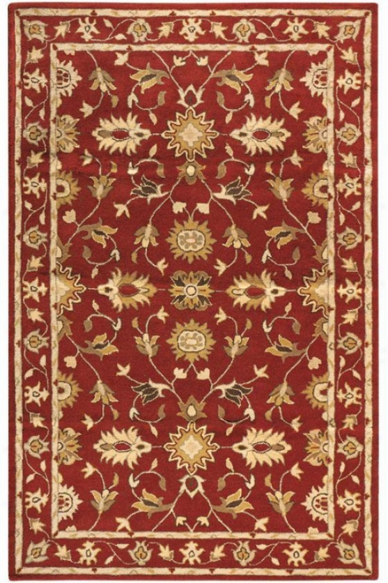Thornbury Rug - 8'x11', Red