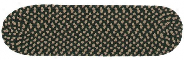 """three-color Multi Stair Treads - 8""""x28"""" 1 Tread, Green"""