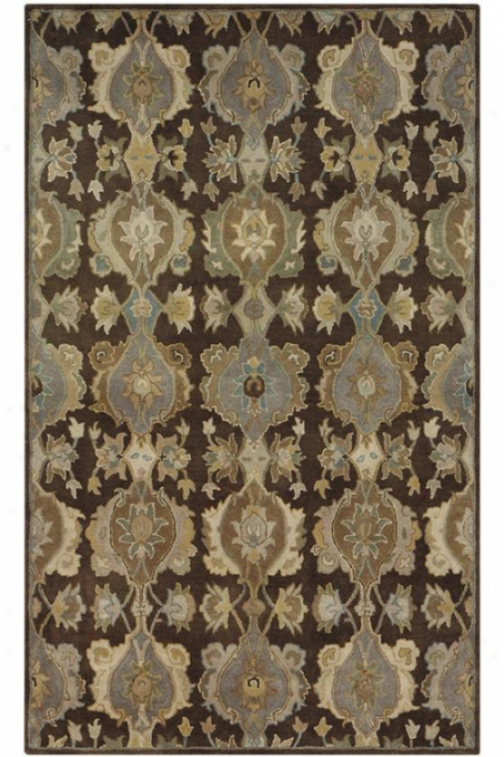 """touraine Region Rug - 9'6'x13'6"""", Brown"""