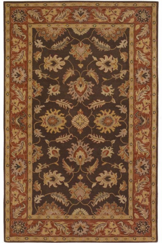 Tristan Area Rug - 6'x9', Chocolate Brown