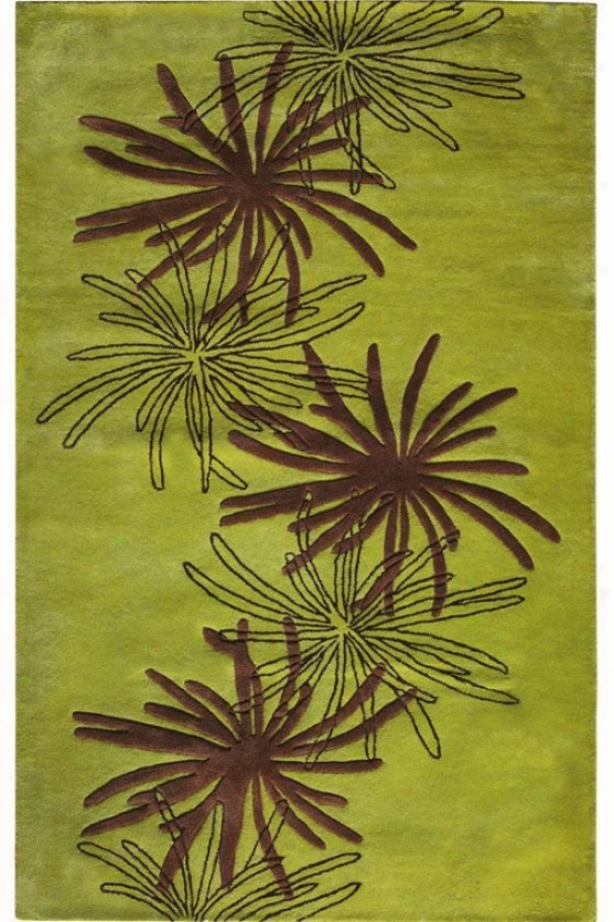 """triumphant Area Rug - 2'9""""x14' Runner, Green"""