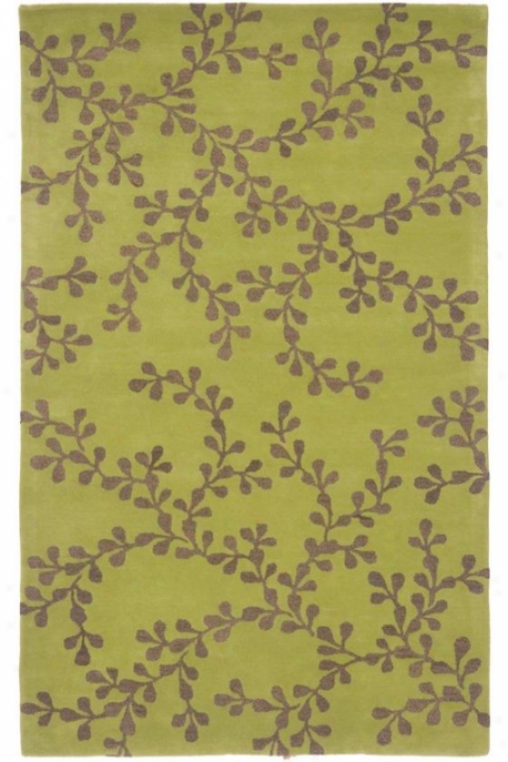 Waterloo Area Rug Ii - 2'x3', Green-tellow
