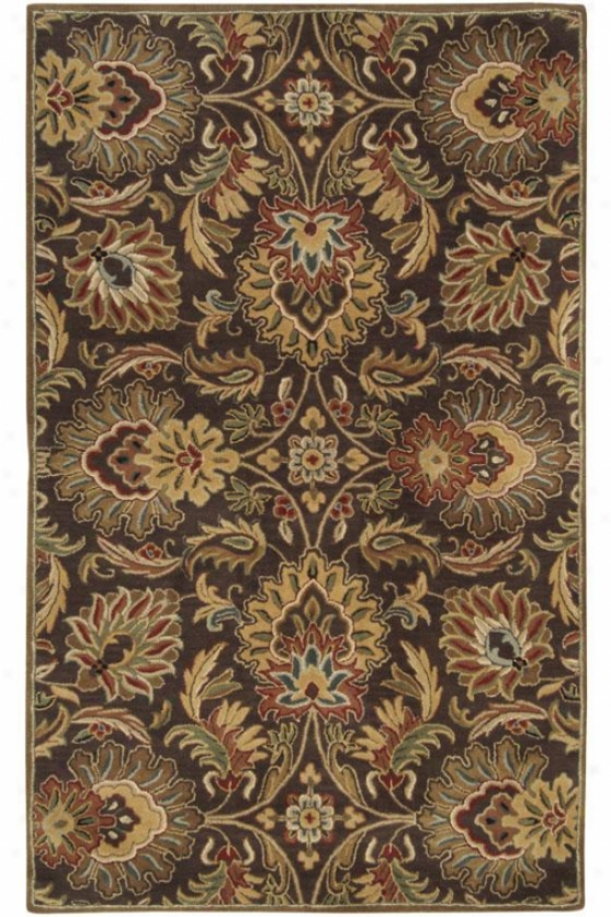 Watkins Yard Rug - 10'x14', Chocolate Brown