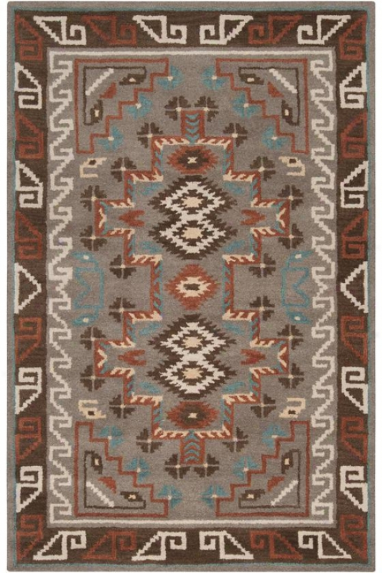 Wellton Area Rug - 5'x8', Sea Blue