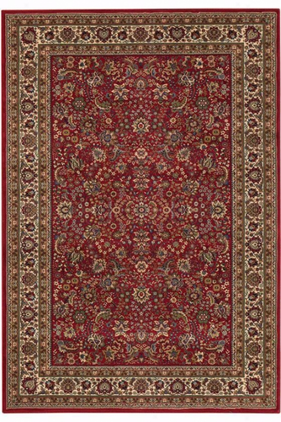 Westminster Rug - 8' Square, Red