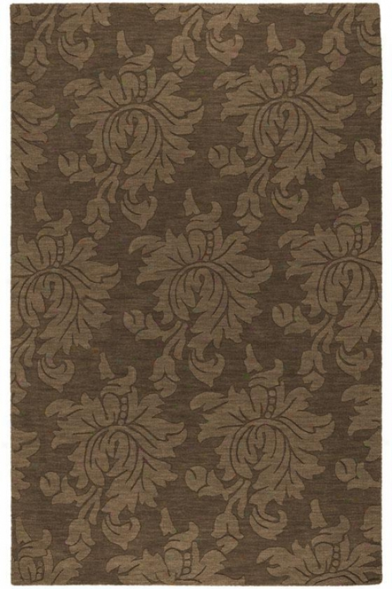 """whitney Area Rug - 3'3""""x5'3"""", Brown"""