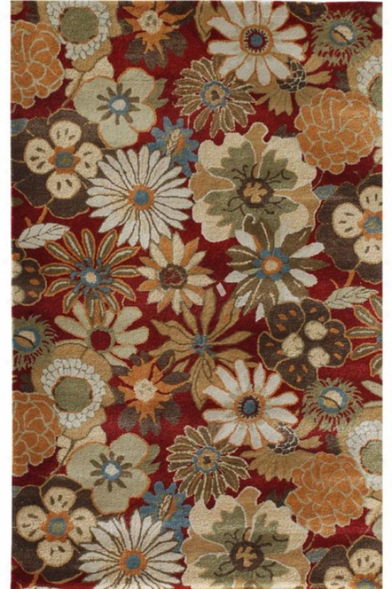Wildbrook Area Rug - 8'x11', Red