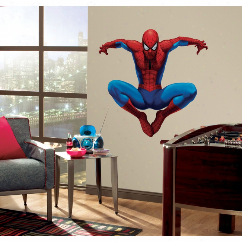 Amazing Spider-man Giant Wll Decal
