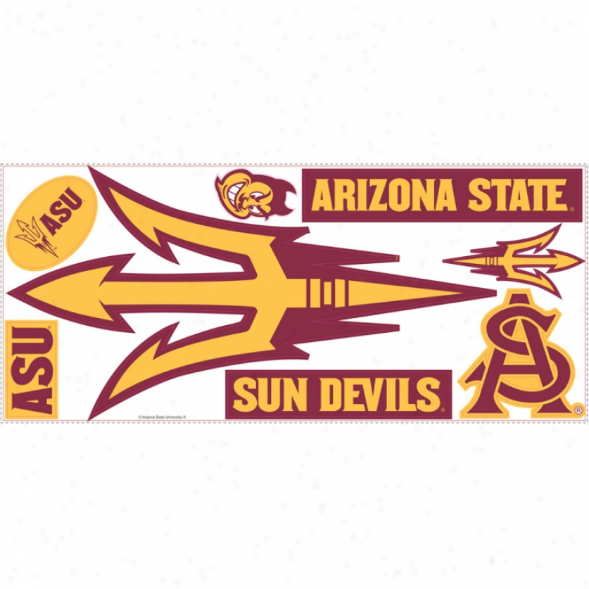 Arizona State University Giant Wall Decals