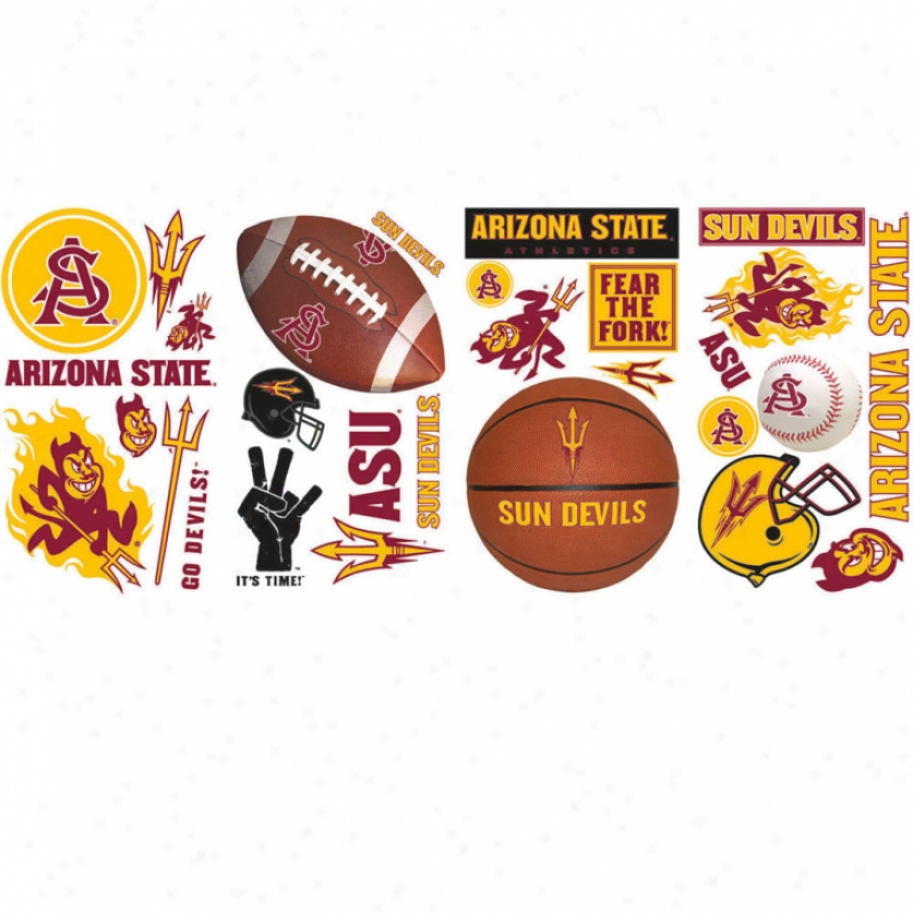 Arizona State University Wall Decals
