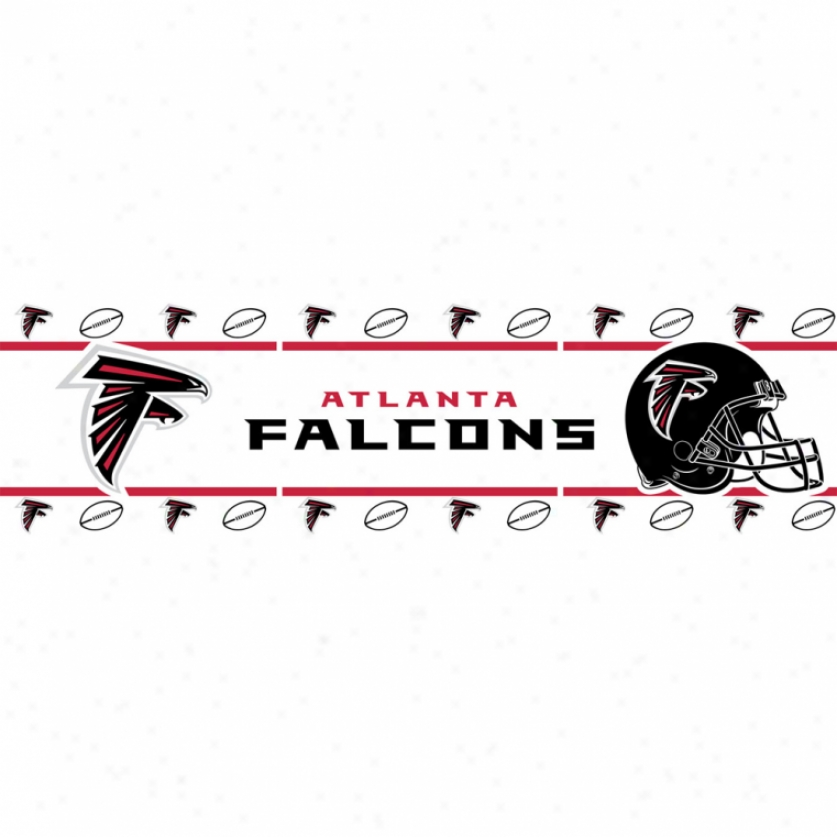 Atlanta Falcons Peel & Stick Border