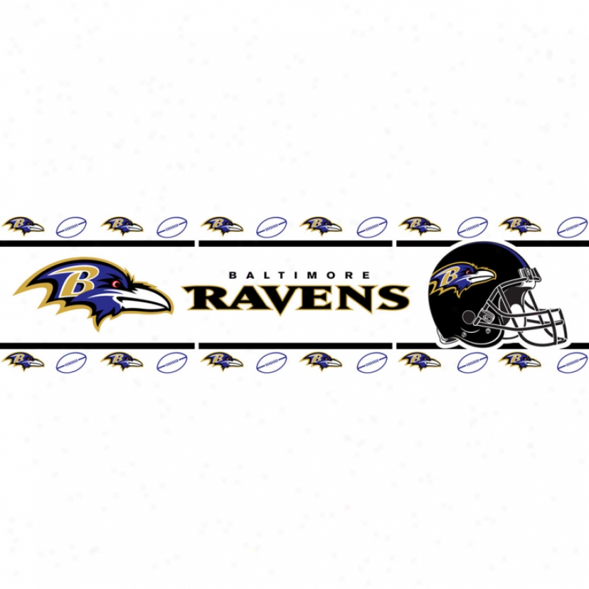 Baltimore Ravens Peel & Stick Limit