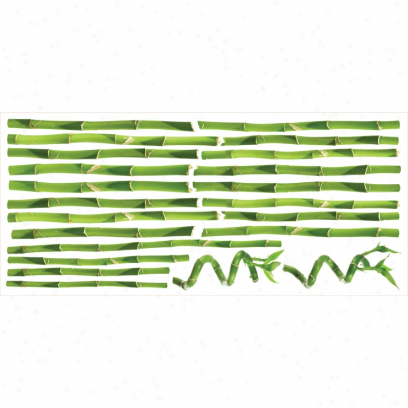 Bamboo Monster Wall Decals