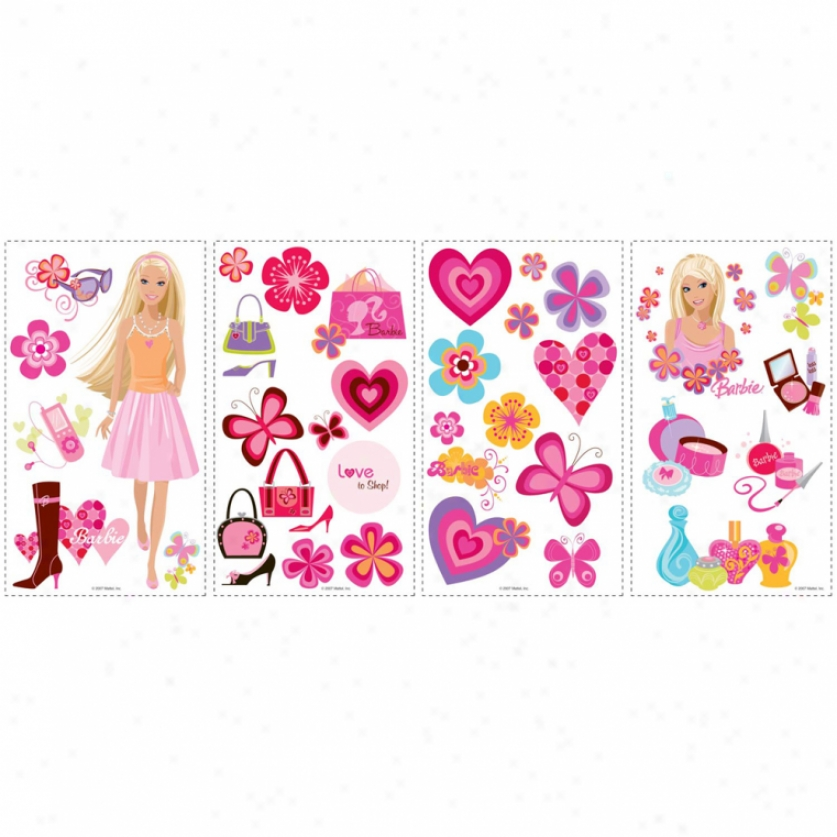 Barbie Deco Wall Decals