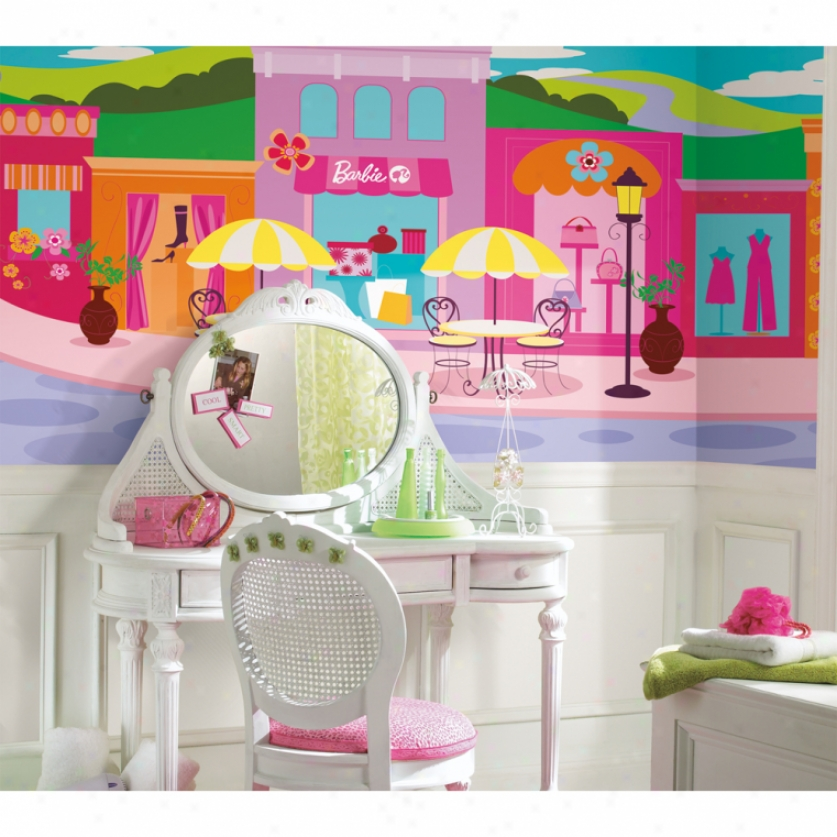 Barbie Xl Wallpaper Murai 10.5' X 6'