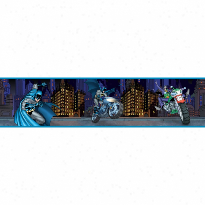 Batman Gotham Guardian Peel & Stick Border