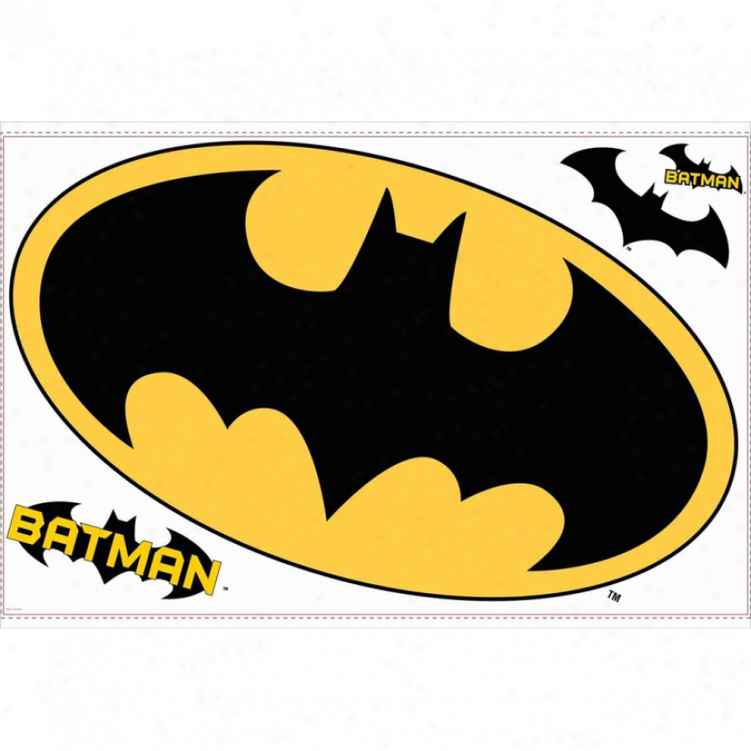 Batman Logo Giant Wall Decal