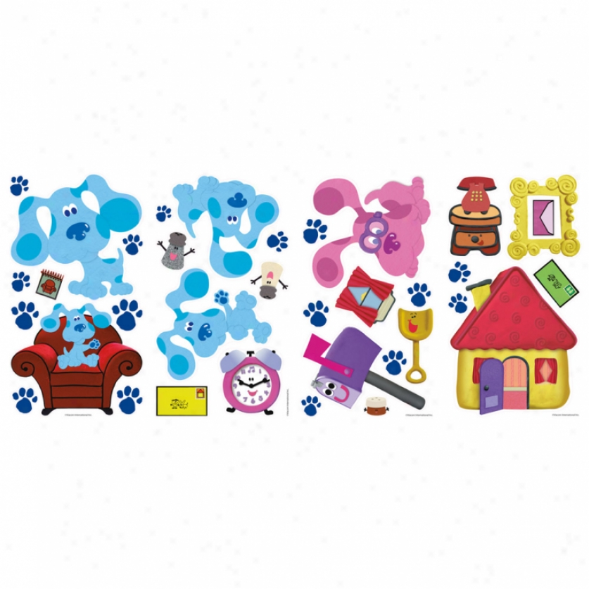 Blue's Clues Wall Decals