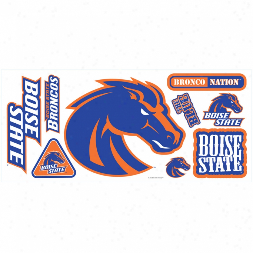 Boise Commonwealth University Giant Wall Decals