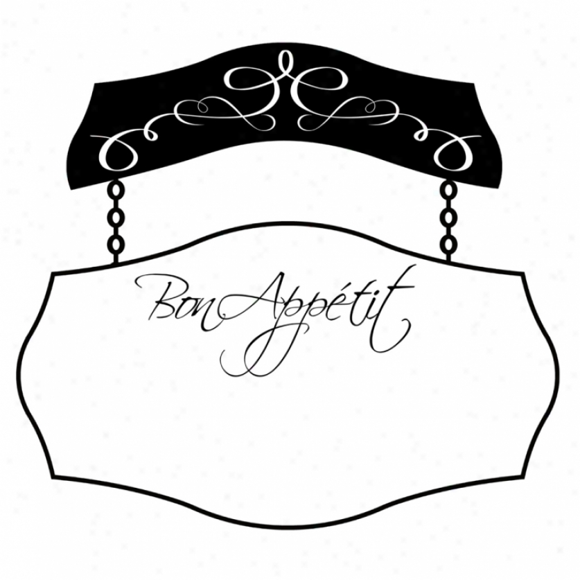 Bon Appetit Dry Erase Gant Wall Deecal