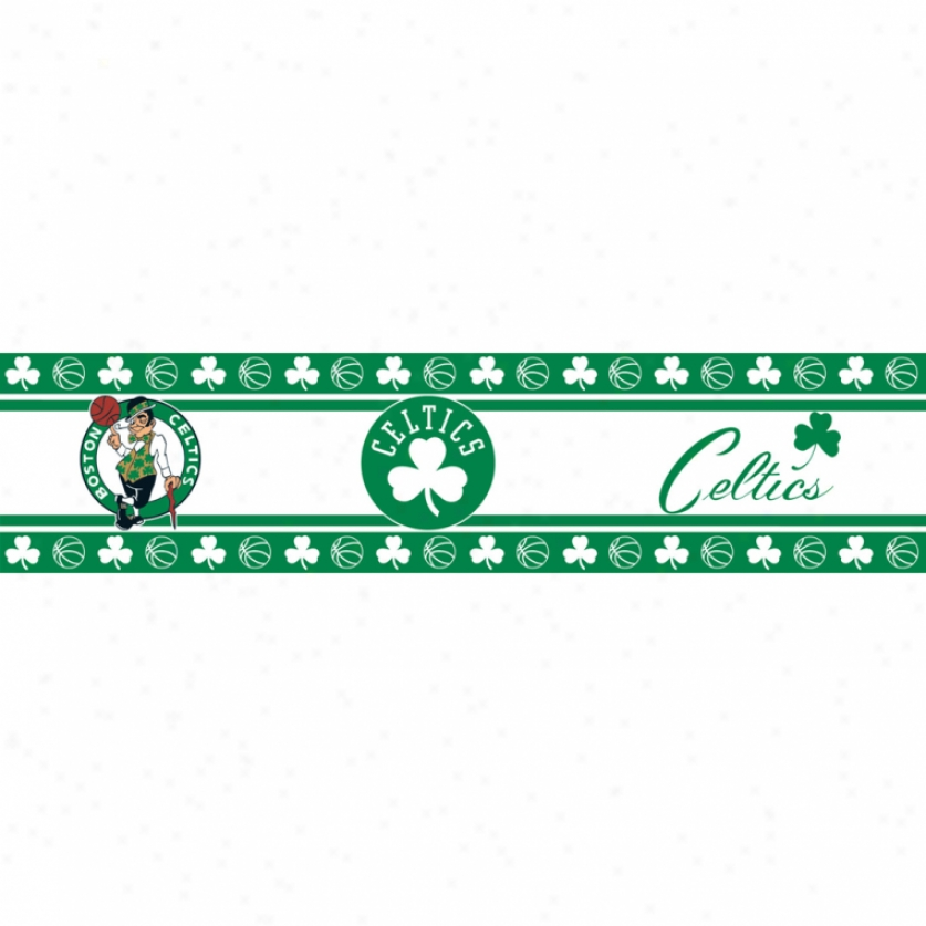 Boston Celtics Peel & Stick Border