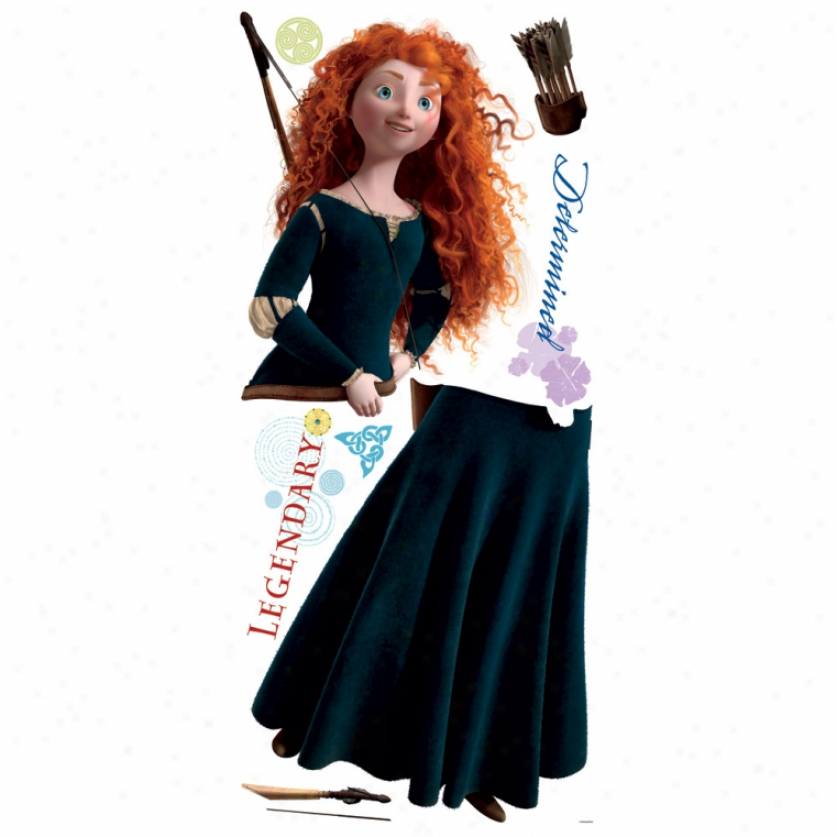 Brave Merida Giant Wall Decal