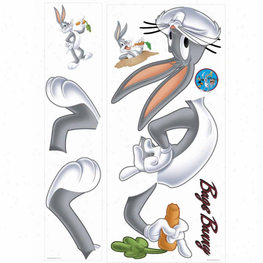 Bugs Bunny Giant Wall Decal