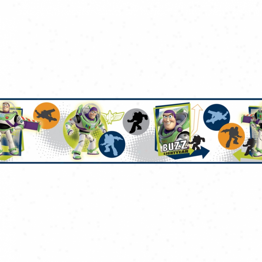 Buzz Lightyear Peel & Stick Border