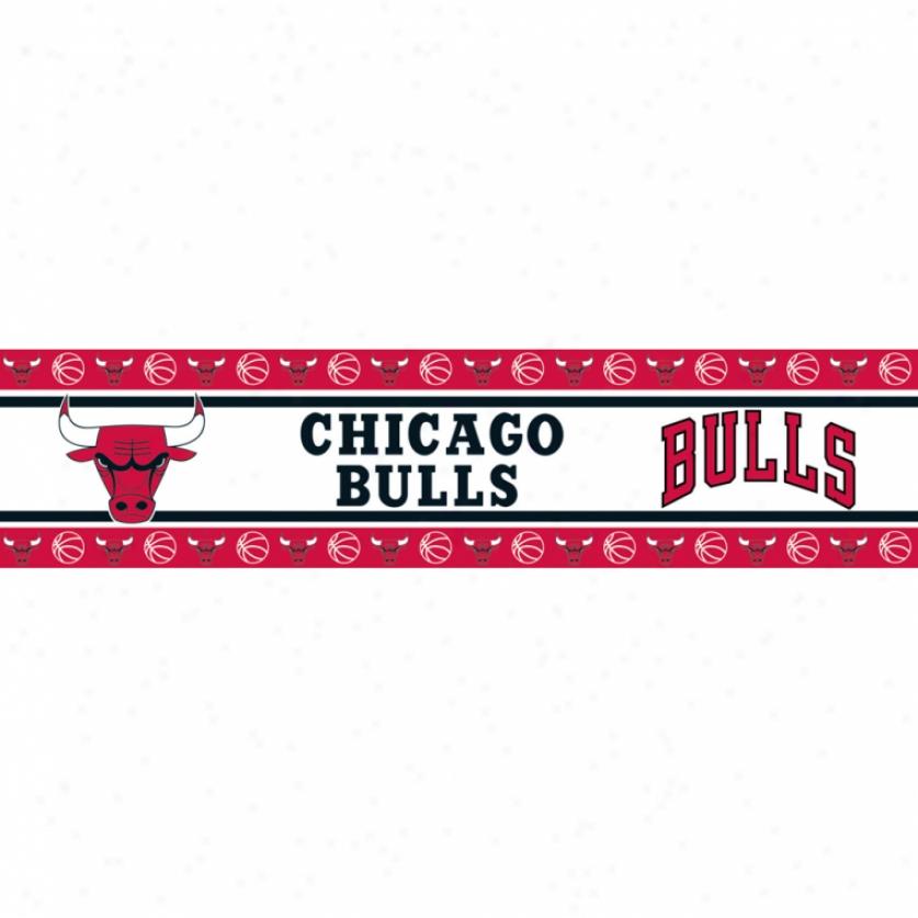 Chicago Bulls Peel & Stick Limit
