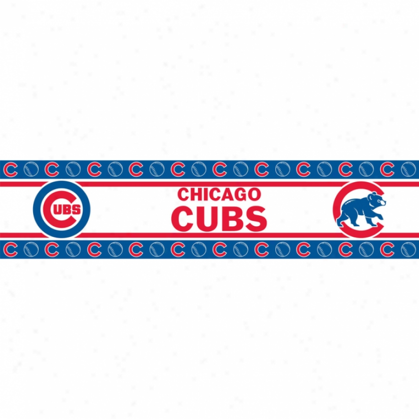 Chicago Cubs Peel & Stick Edge