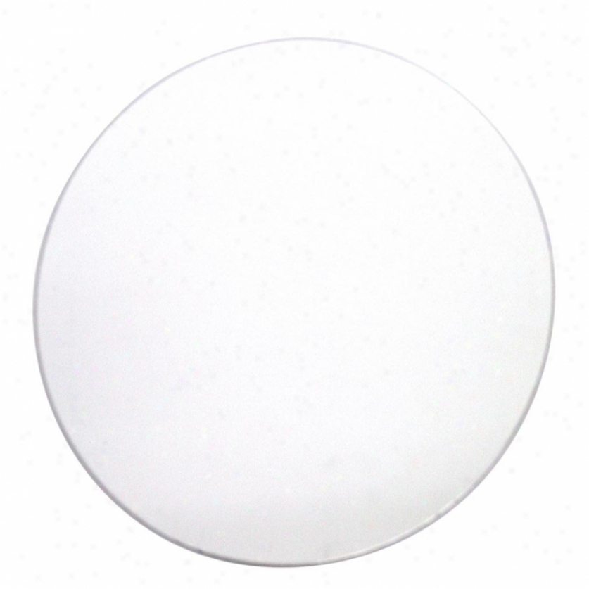 Circle Peel & Stick Mirror