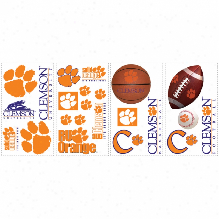 Clemson Univrsrity Wall Decals