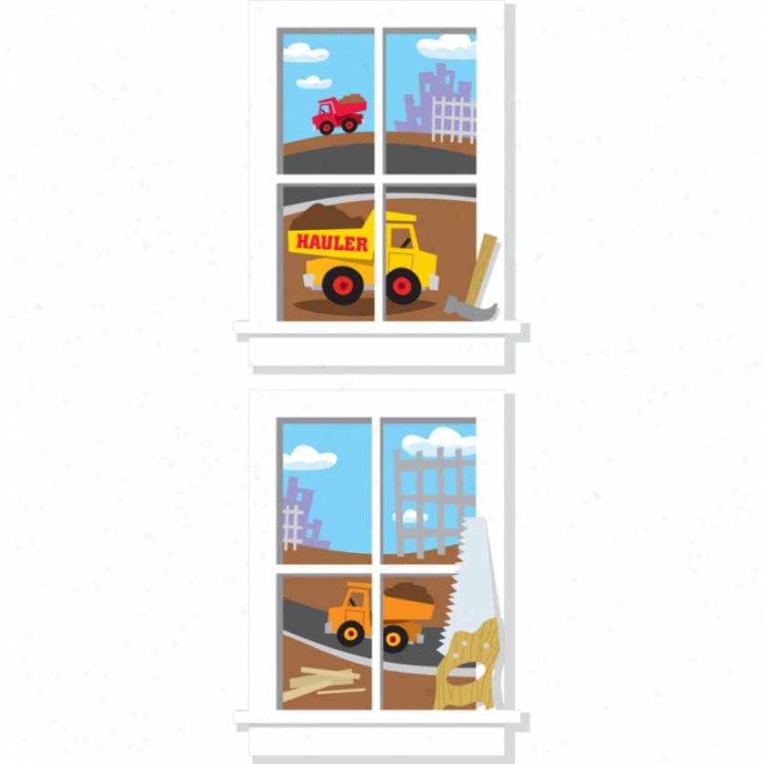 Construction Junction Windows Giant Wall Decals