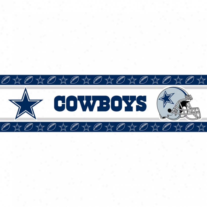 Dallas Cowboys Peel & Stick Border
