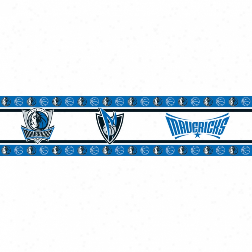 Dallas Mavericks Peel & Stick Put a ~ upon