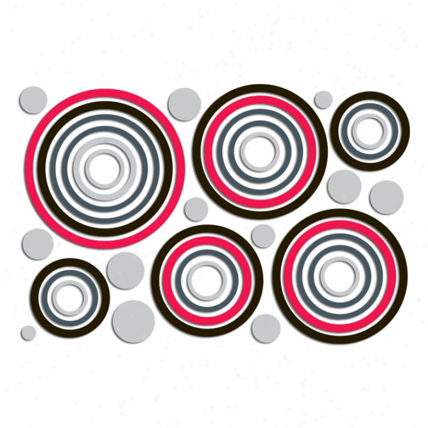 Deco Circles Foam Wall Decals