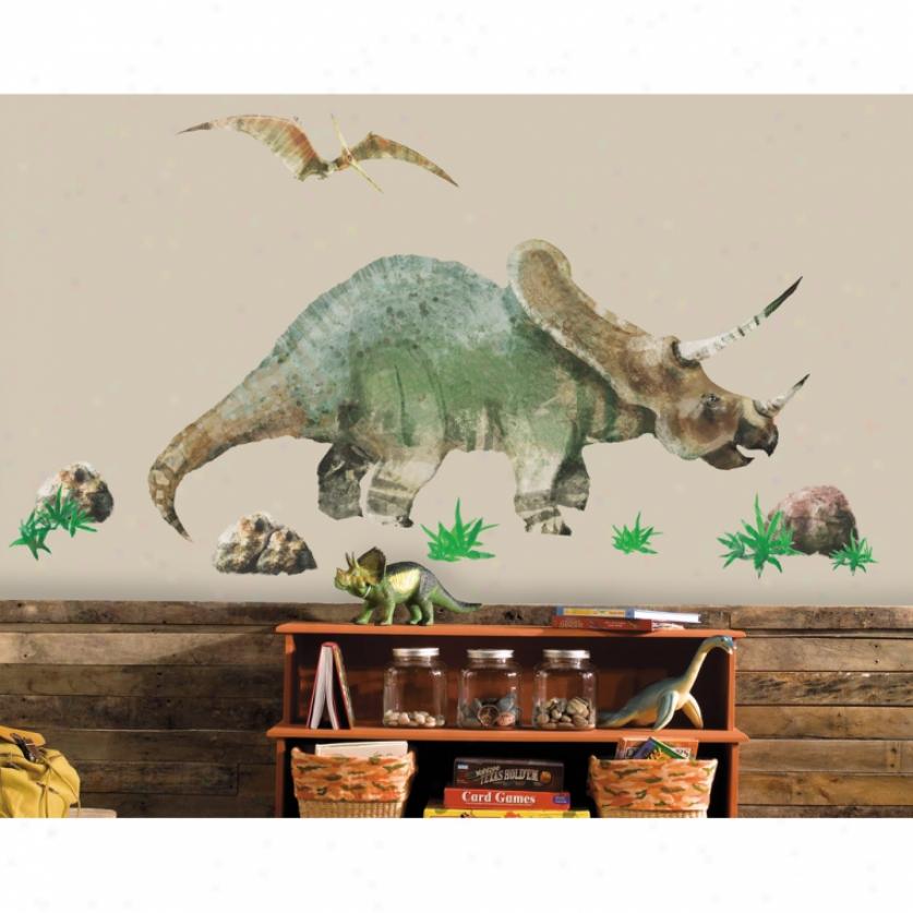 Dinosaur Monster Wall Decal