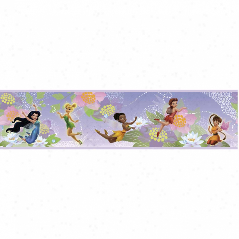 Disney Fairies Peel & Stick Border