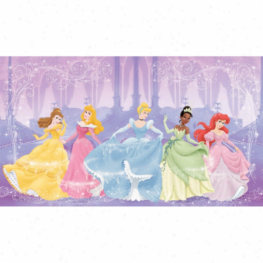 Disney Perfect Princess Xl Wallpaper Mural 10.5' X 6'