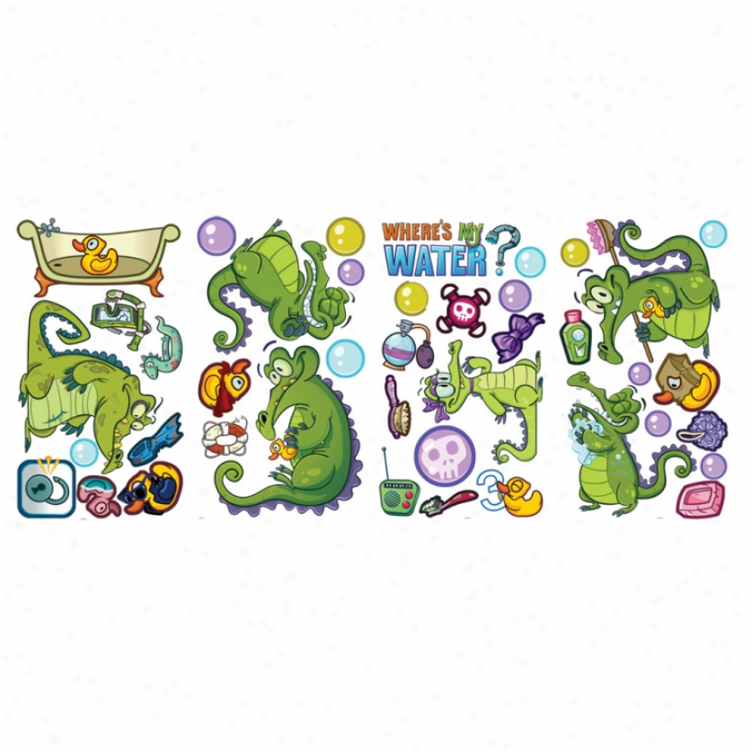 Disney Where S My Water Wall Decals Wall Decals The