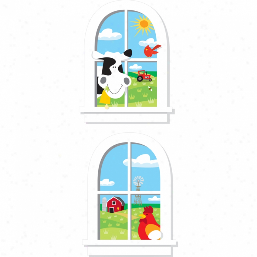 Down On The Till the soil Windows Giant Wall Decals