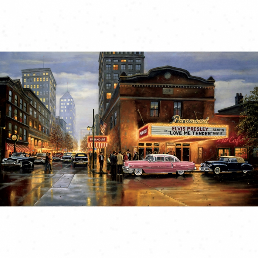 Evening At The Paramount Xl Wallpaepr Mural 10.5' X 6'